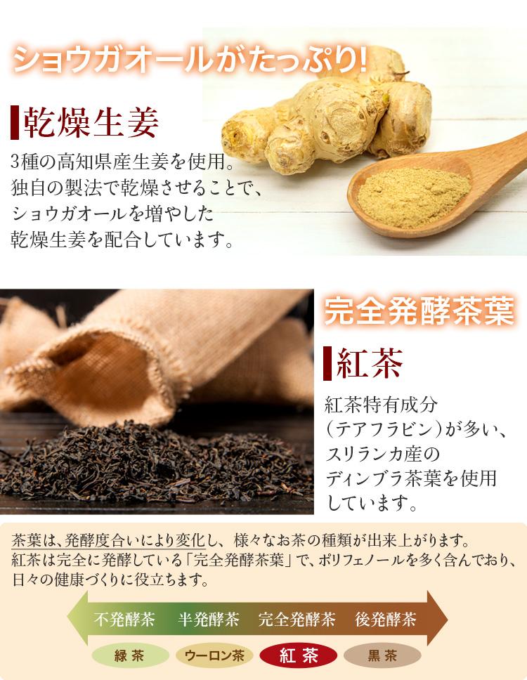 ショウガオールがたっぷり 乾燥生姜